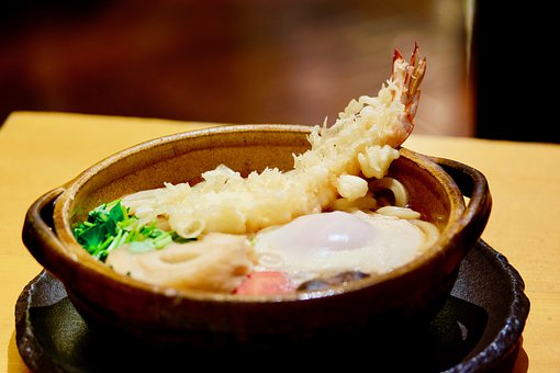 Udon, Noodle, Boiled, Japan, Hot