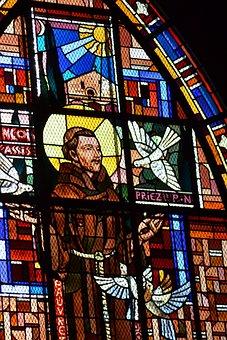 Stained Glass, Window, Chapel, Saint, Man