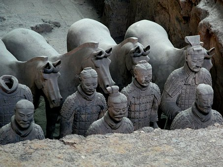 China, The Terracotta Army, Dig It Up, Horse, Military