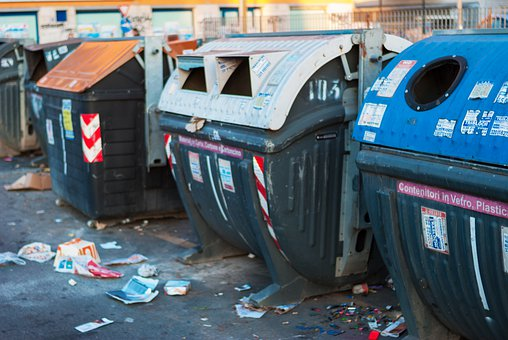 Rome, Garbage, Dirty, Pollution
