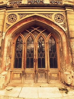 Manor-house, Slovakia, Door, Architecture, Old, Portal