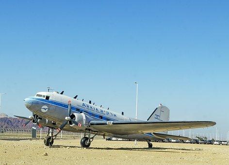 Israel, Airplane, Arkia, Israel Inland Airlines, Eilat