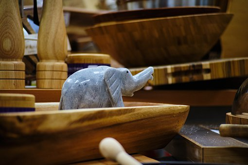 Elephant, Miniature, Decoration, Figure, Figurine