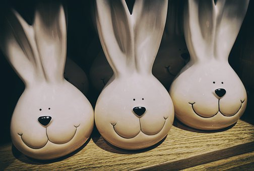 Easter, Easter Bunny, Easter Theme, Hare, Figures