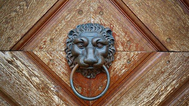 Doorknocker, Goal, Input, Metal, Handle