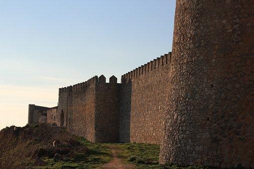 Castle, Medieval Village, Medieval, Landscape