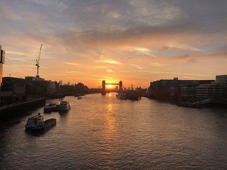 London, Tower Bridge, Bridges, England, Bridge, City