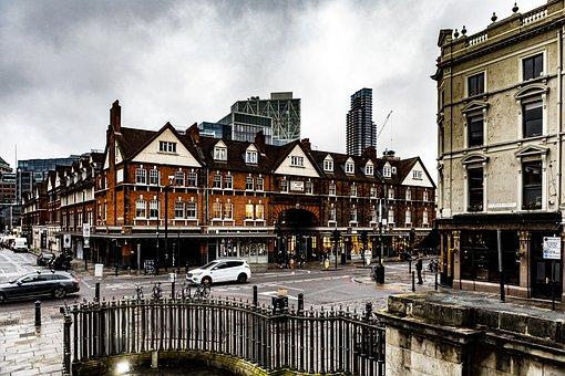 Winter, 2020, London, Uk, England, City