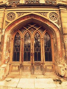 Manor-House, Slovakia, Door