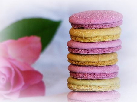 Macarons, Pastries, Delicatessen, Meringue, Sweetness