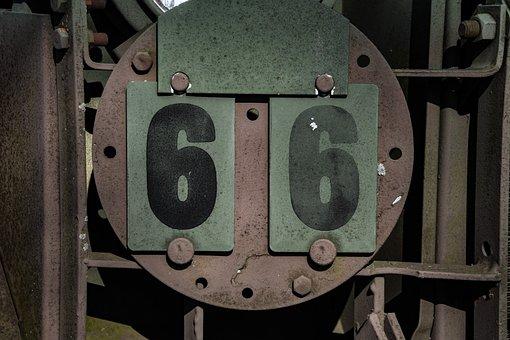 Badge, 66, Military, Equipment, Veteran, Metal, Glass
