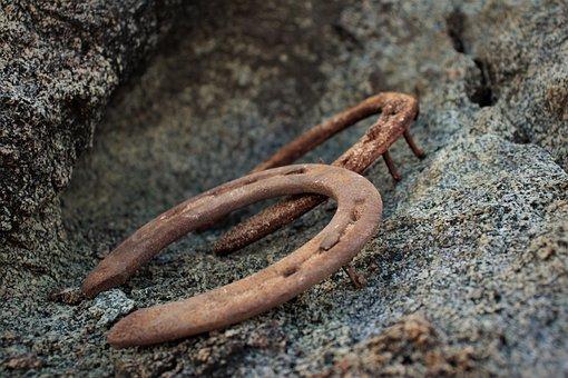 Iron, Horse Shoes, Horseshoe, Blacksmith, Rusty, Metal
