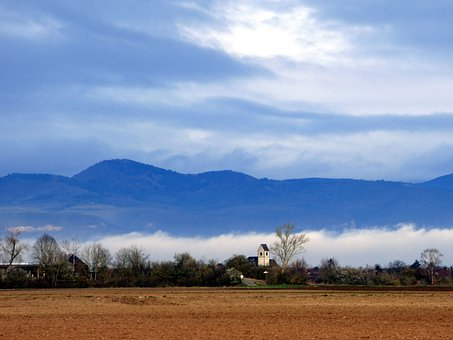 Landscape, Lock, Nature, Tree, Sky, Earth, Mountain