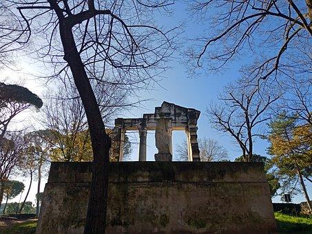 Rome, Park, Sky, Tree, Italy, Monument