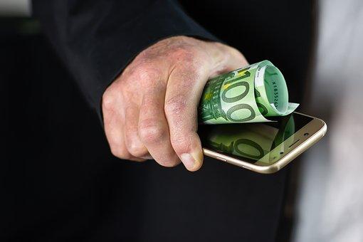 Smartphone, Money, Finance, Economy, Banking, Currency