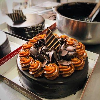 Cake, Chocolate, Dessert, Food, Sweet, Delicious