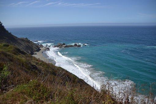 Highway, California, Usa, Road, America