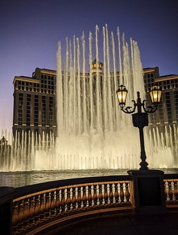 Fountain, Vegas, Water, Bellagio, Hotel, Fountains