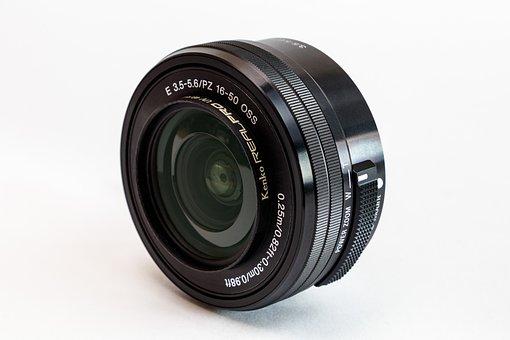 Lens, Sony, E 16-50mm, Optics, Zoom, Photographer