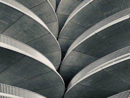 Grey, Concrete, Architecture, Structure