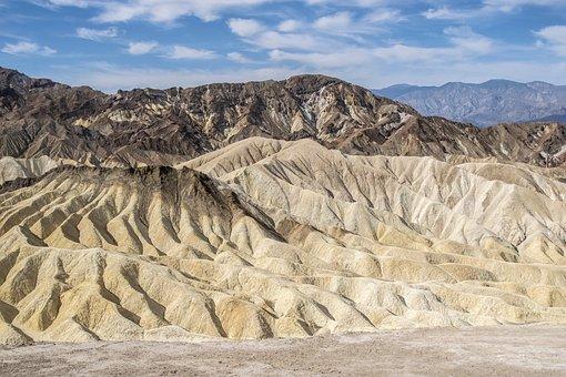 Death Valley, Golden Canyon, Usa
