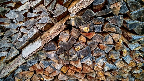 Firewood, Holzstabel, Dry, Winter