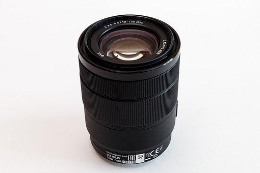 Lens, Sony, E 18-135mm, Optics, Zoom, Photographer