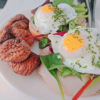Eggs And Figs, Figs, Egg, Vegan, Salad, Organic