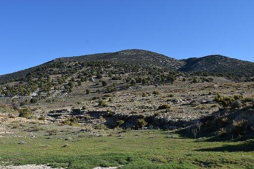 Landscape, Field, Nature, Sky, Rural, Mountains