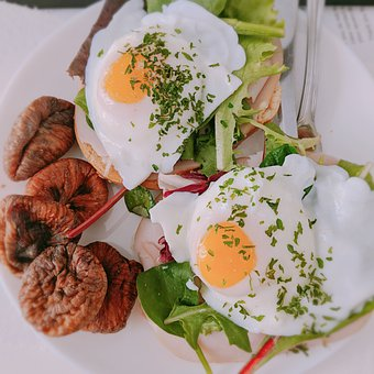 Egg, Eggs And Figs, Breakfast, Food, Nutrition, Healthy