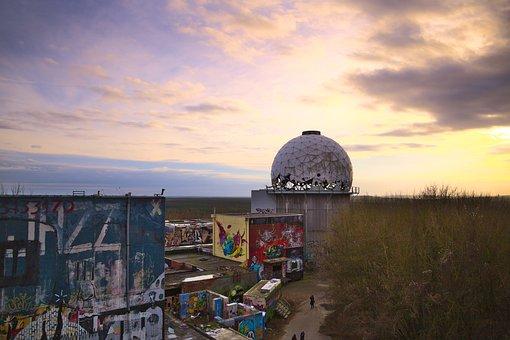 Berlin, Teufelsberg, Interception Station, Dome