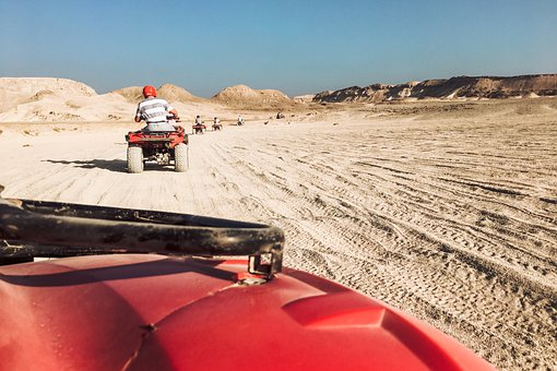 Egypt, Desert, Quad, Atvs, Horse, Sand