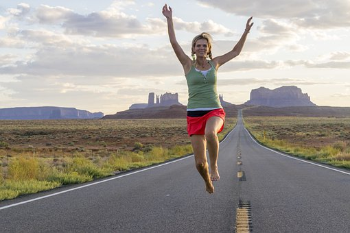 Forrest Gump, Monument Valley, Run