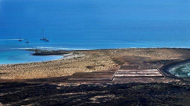 Canary Islands, Salt, Salt Marshes, Ocean, Nature