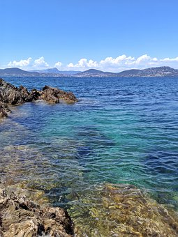 Sea, Blue, Clear Water, Summer, Holiday