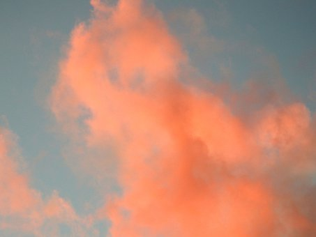 Evening, Clouds, Red, Sky, Sunset