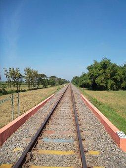 Train, Rail, Transportation, Travel, Rain, Gleise