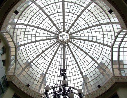 Dome, Architecture, Transparent, Light, Oradea, Partium