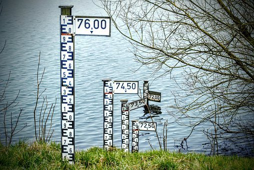 Water Level, Ad, Water, Blue, Water Level Indicator