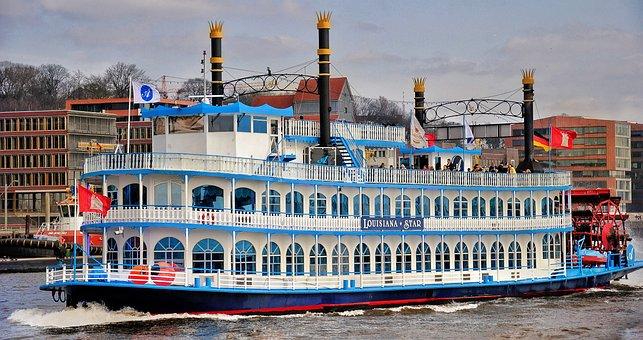 Hamburg, Port, Ship, Germany