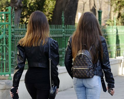 Girls, Young, People, The Hair, Long