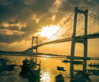 Da Nang City, Landscape, Bridge, City