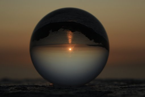 Sunset, Chile, Beach, Sphere, Perfect, Sky, Landscape