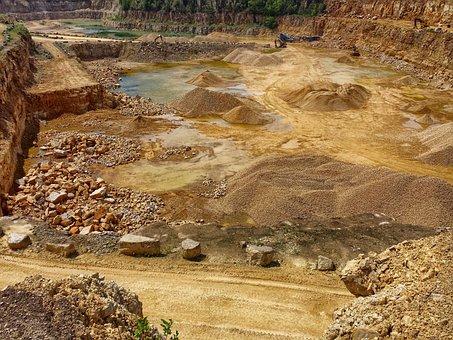 Quarry, The Stones, Rocks, Wyrobisko, Work