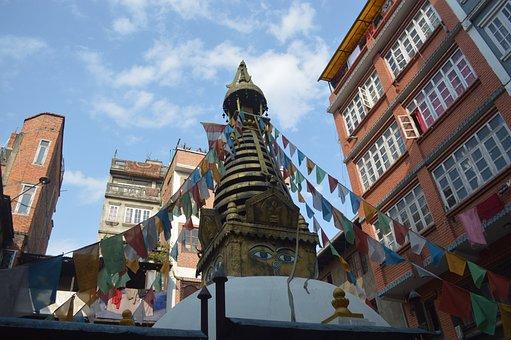 Nepal, Kathmandu, Te, Buddhism, Temple, Traditional