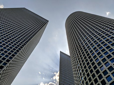 Towers, Urban, Architecture, Building