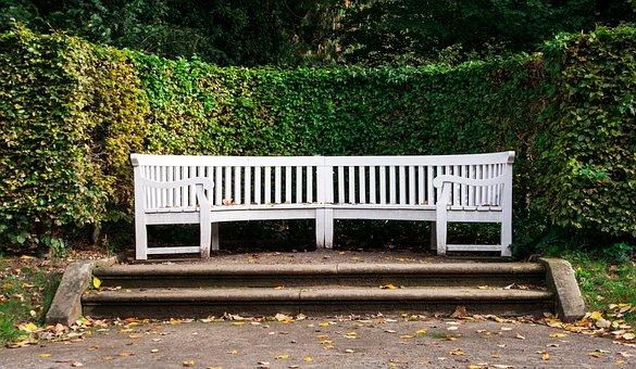 Bank, Park Bench, Break, Silent Place, Secretly, Sit