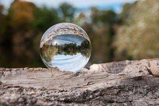 Ball, Photo Sphere, Crystal Ball, Mirroring, Glass Ball