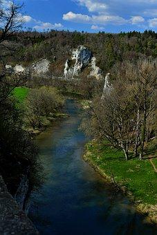 Danube Valley, Beuron, Danube, Nature, Landscape