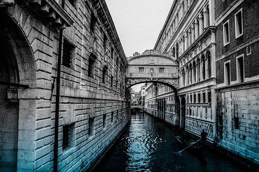 Water, Cities, Nature, Calm, Urban